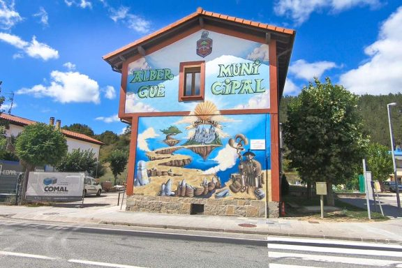 A typical public albergue on the Camino de Santiago