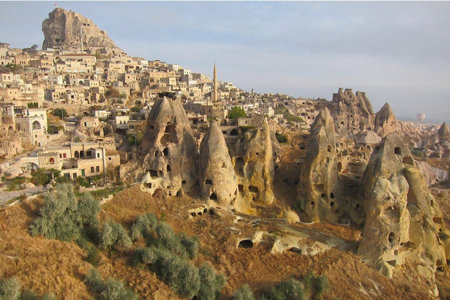 The fascinating fairy chimney, stone houses of Cappadocia