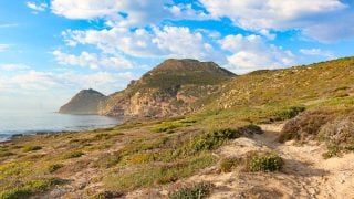 A beautiful view of Cape Peninsula, a great place for an in-nature day trip from Cape Town