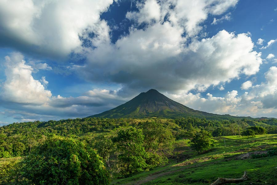 Arenal Volcano - a very popular place to visit in Costa Rica