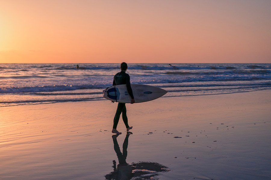 Surfing is one of the favorite things to do in Costa Rica.