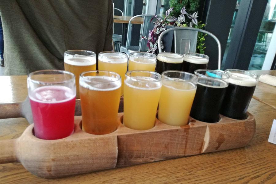 craft beer tasting vancouver island