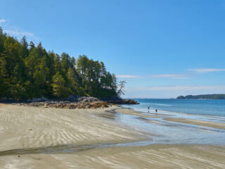 Long beach one of the best beaches on Vancouver island