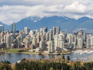 view of Vancouve