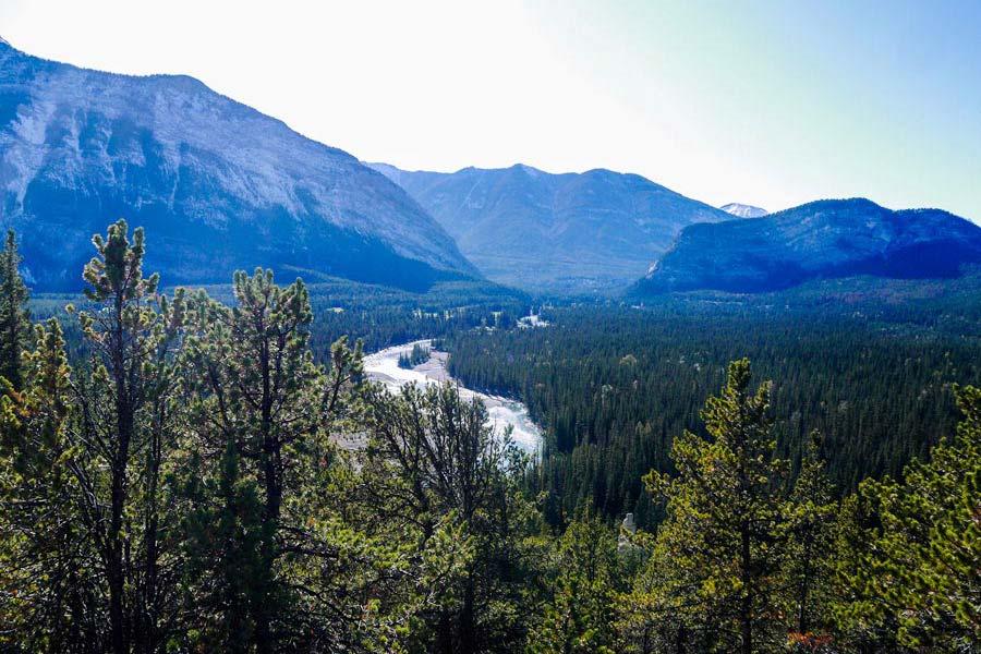 Banff hikes the Hoodoo trail