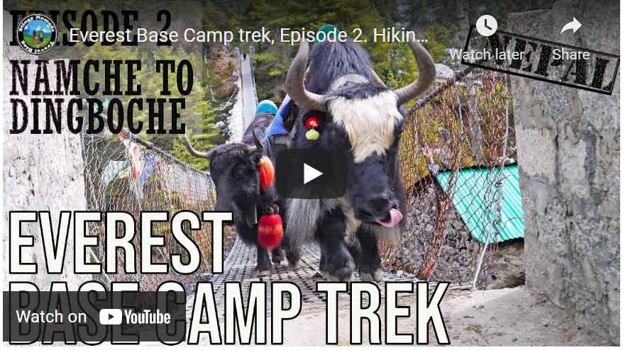everest base camp trek video