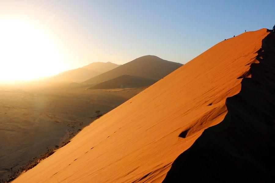 sunrise dune 45 sossusvlei namibia