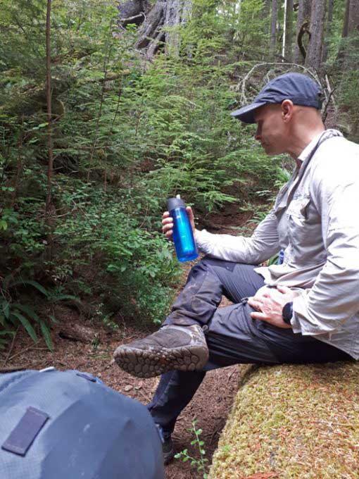 Lifestraw bottle Juan de Fuca trail